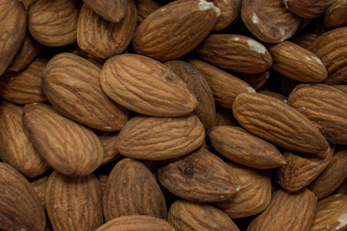 almonds used in flavoring of soap